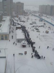 Снежная весна 2013 Львов