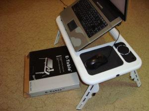 Обзор столика для ноутбука E-table