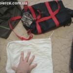 Делаем походные подушку и ведро из мешка