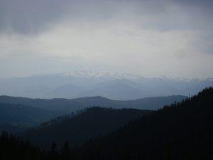 Весенний поход в горы — г. Хомяк (Карпаты). День 2, часть 2