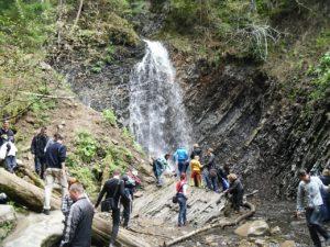 Весенний поход в горы — водопад Гук. День 3