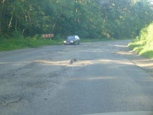О ремонте дороги Т1806 (Буск-Берестечко) на 17.08.205