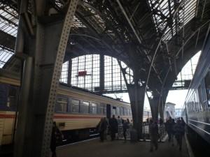 Электропоезд Львов-Мукачево