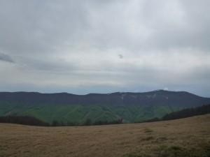 Весна поднимается к вершинам гор