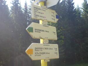 Перевал Околе 1193 м
