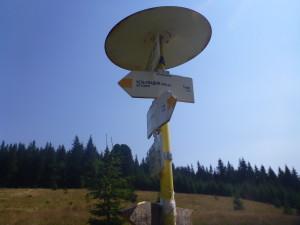 Исток Чёрной Тисы 1220 м