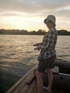 Рыбачка :)