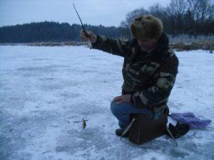 Первая рыбалка 2017-го состоялась